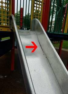 Broken Weld Slide
